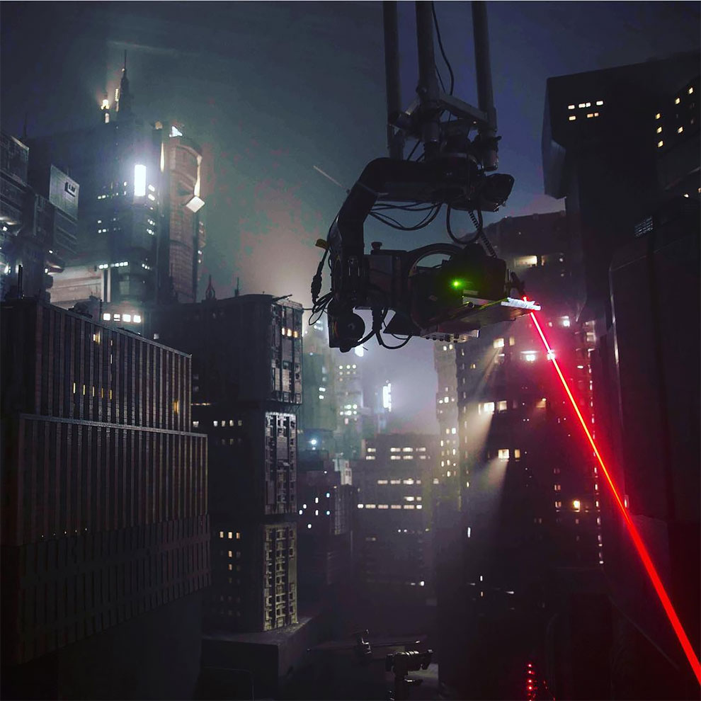 Процесс изготовления декораций для фильма Бегущий по лезвию 2049