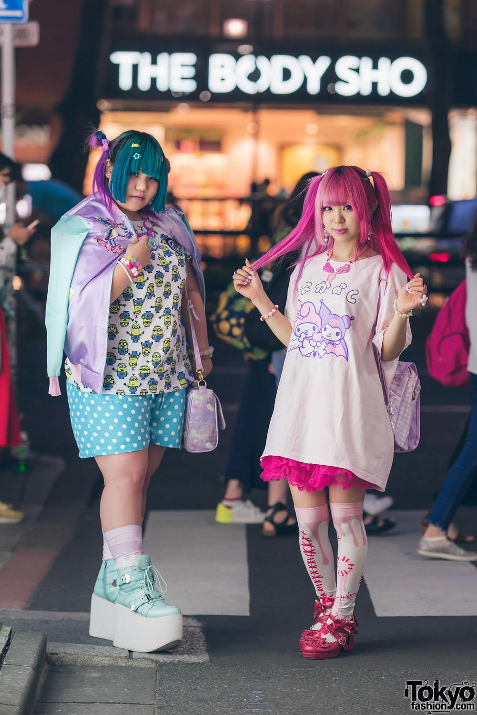 Интересные и модные персонажи с улиц Токио - 11 (50 фото)