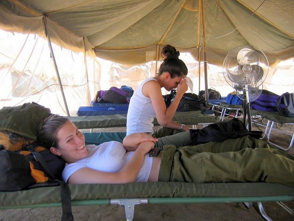 Симпатичные девушки из армии Израиля (35 фото)