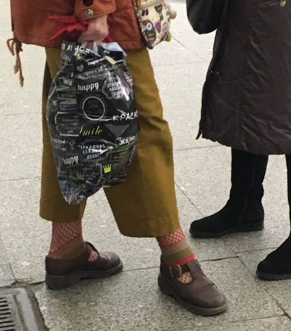 Модники и чудики из российского метрополитена