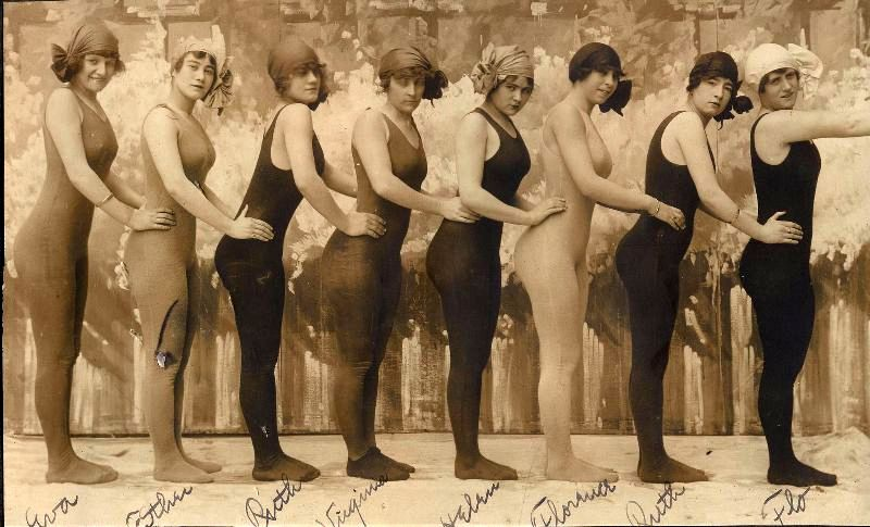 Американские гламурные пловчихи 1910-х годов (48 фото)