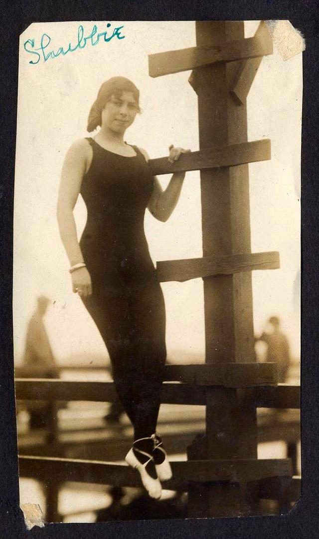 Американские гламурные пловчихи 1910-х годов