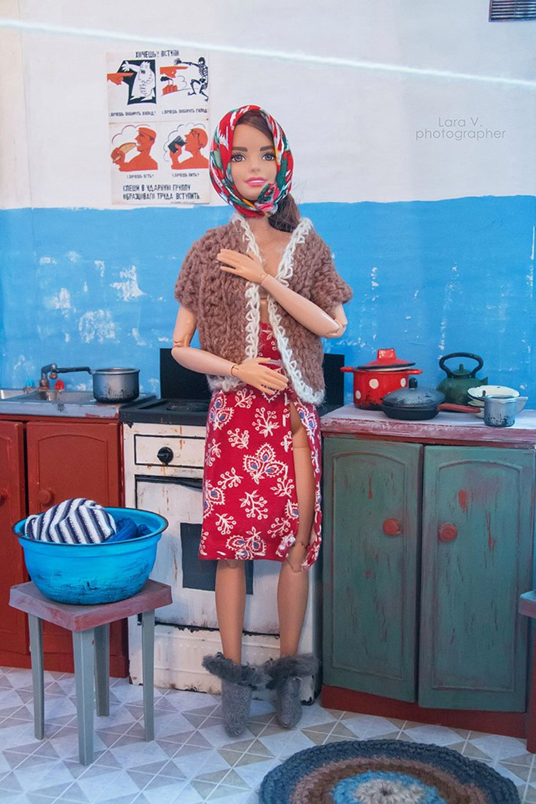 Барби и Кен в советской коммуналке