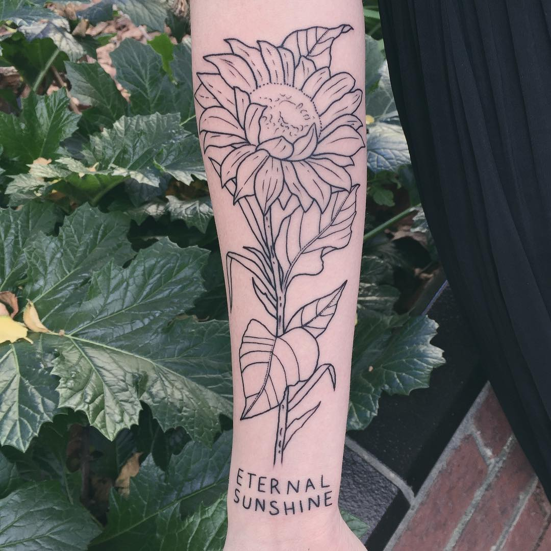Удивительные черно-белые татуировки от Чарли Джерардин