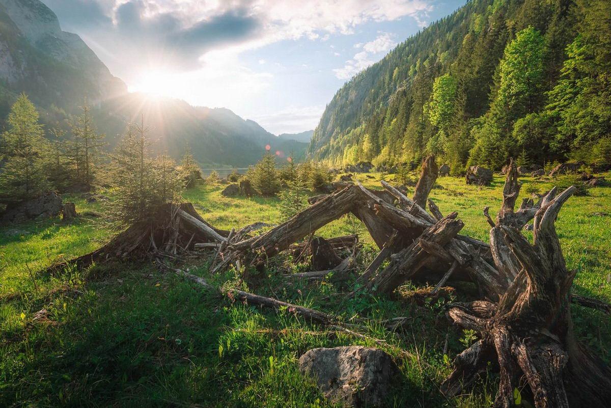 Шикарные пейзажи от Martin Kornmesser