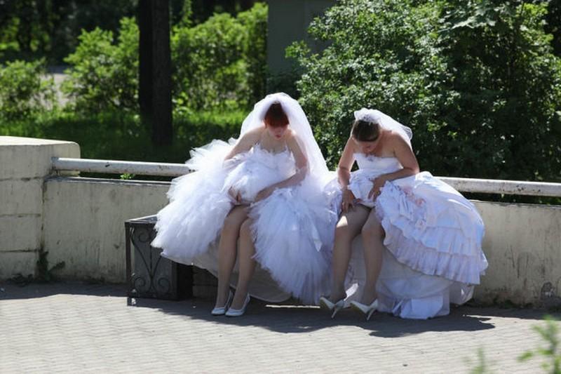 Прикольные свадебные фото - 6 (35 фото)