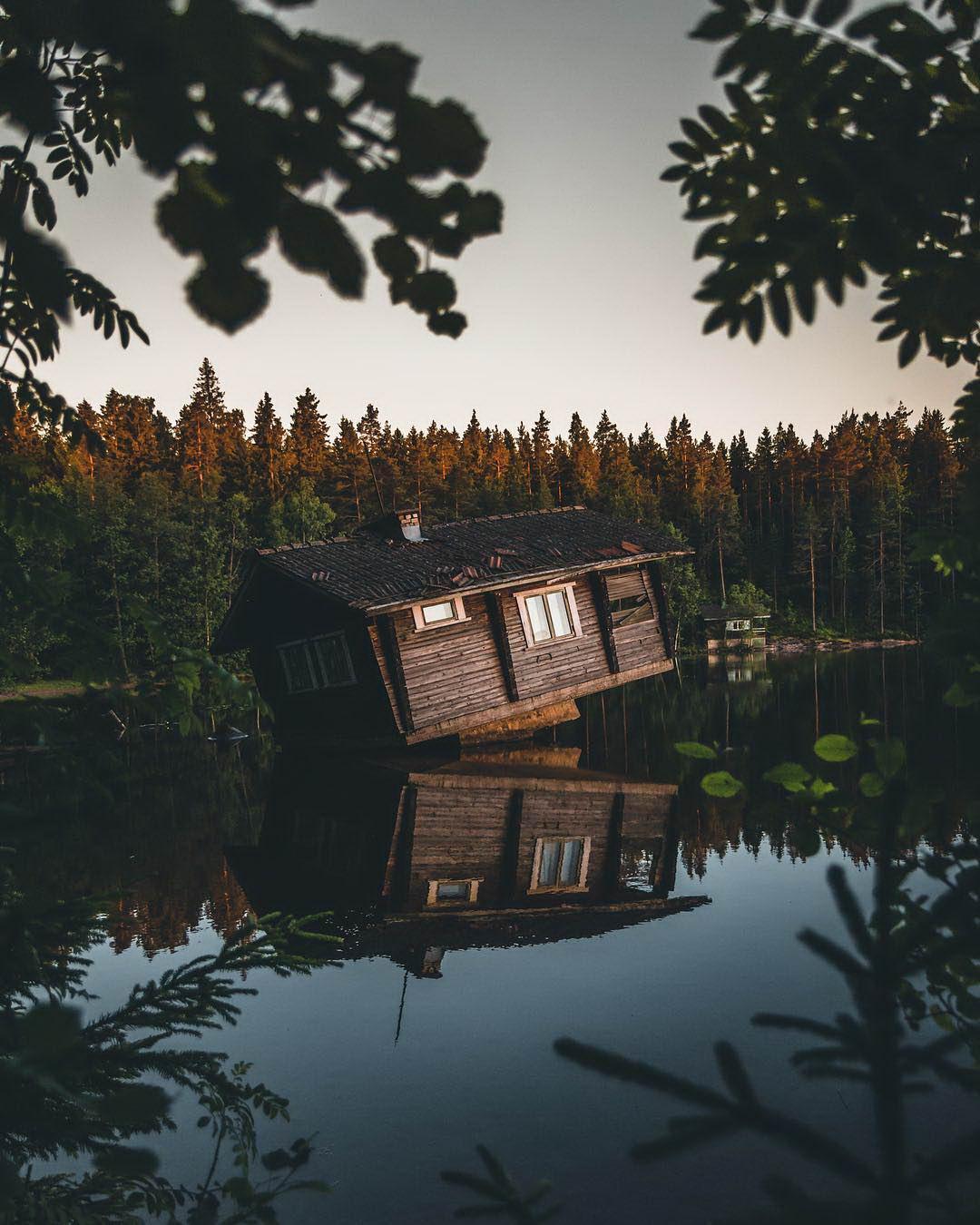 Путешествия и пейзажи на фото Янни Лааксо