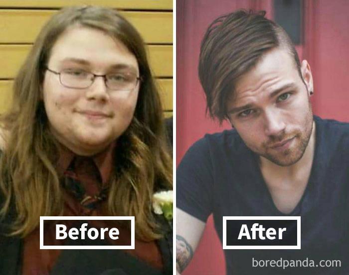 Как потеря веса может изменить ваше лицо (40 фото)