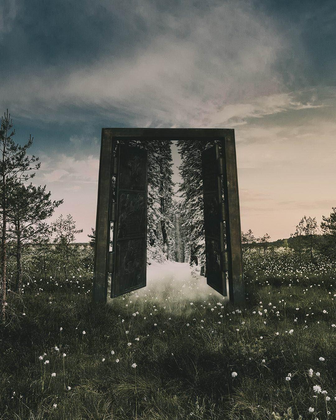 Фантастические фотоманипуляции Эммы Карлссон