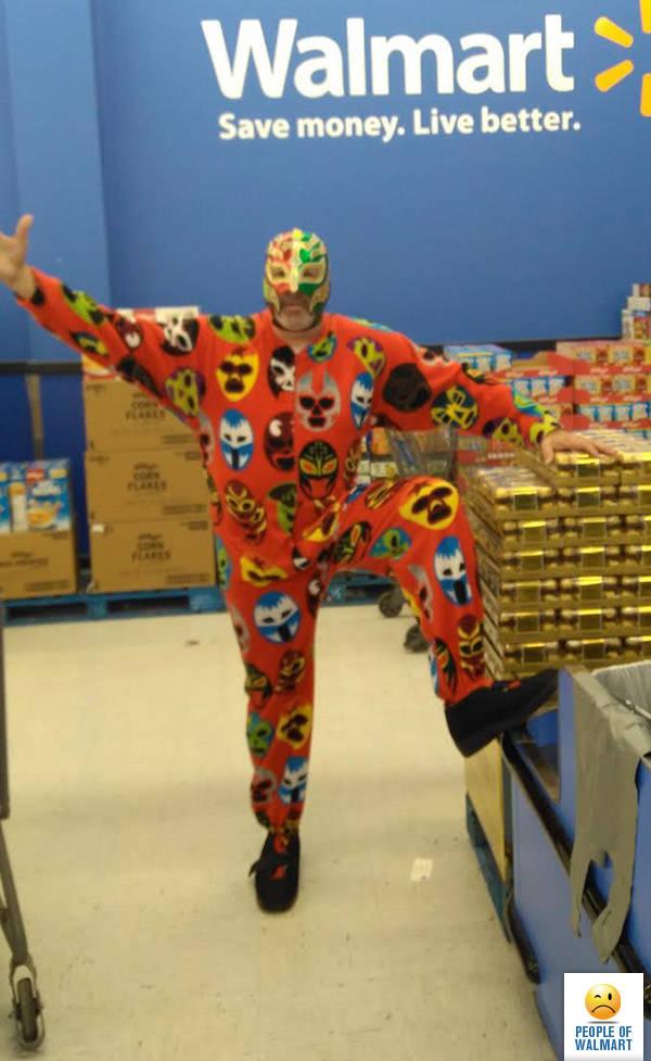 Чудики из Walmart