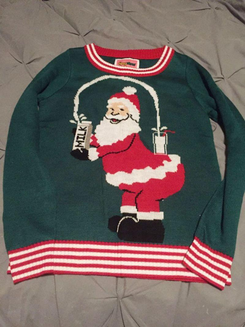 Свитера с плохим Сантой - хит рождественских продаж
