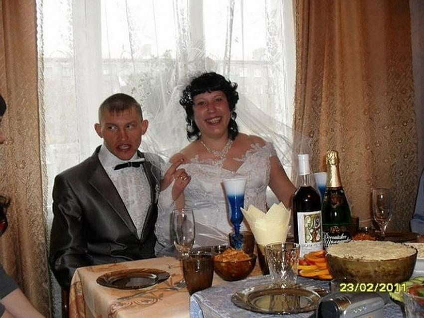 Беспощадная русская свадьба - 7 (25 фото)