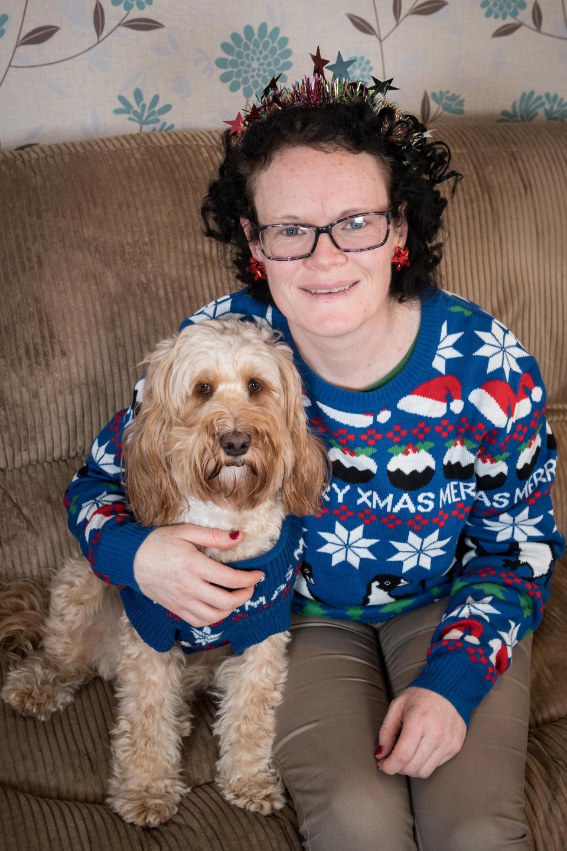 68 рождественских подарков за £1 000 для своей собаки
