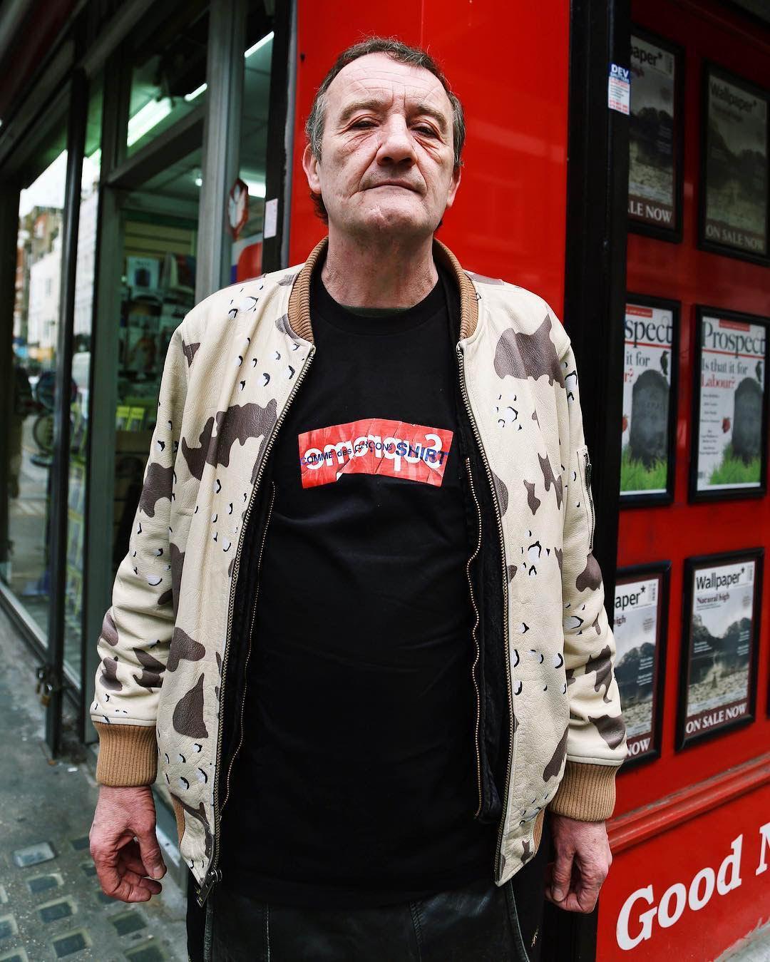57-летний продавец овощей стал иконой уличной моды Лондона