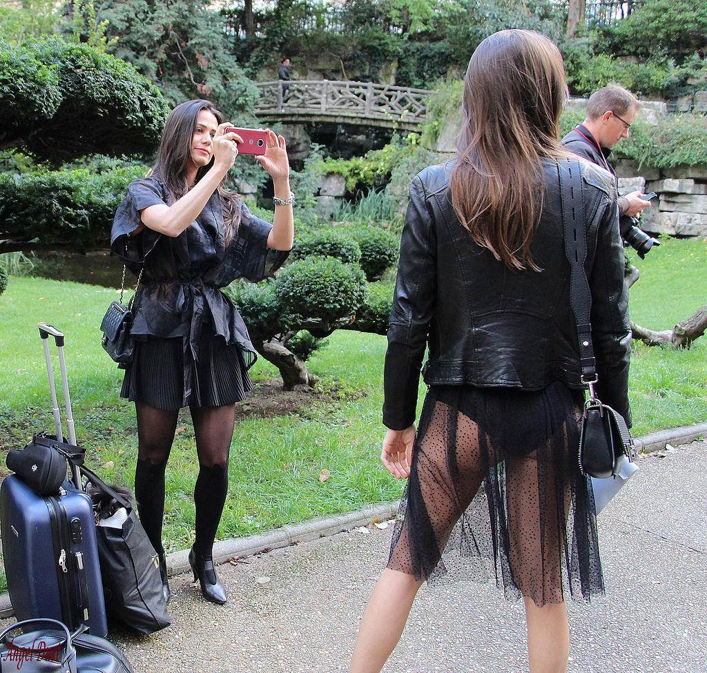 Девушки в прозрачном - 3 (50 фото)