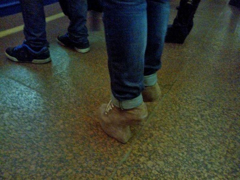 Дикая мода из российского метро