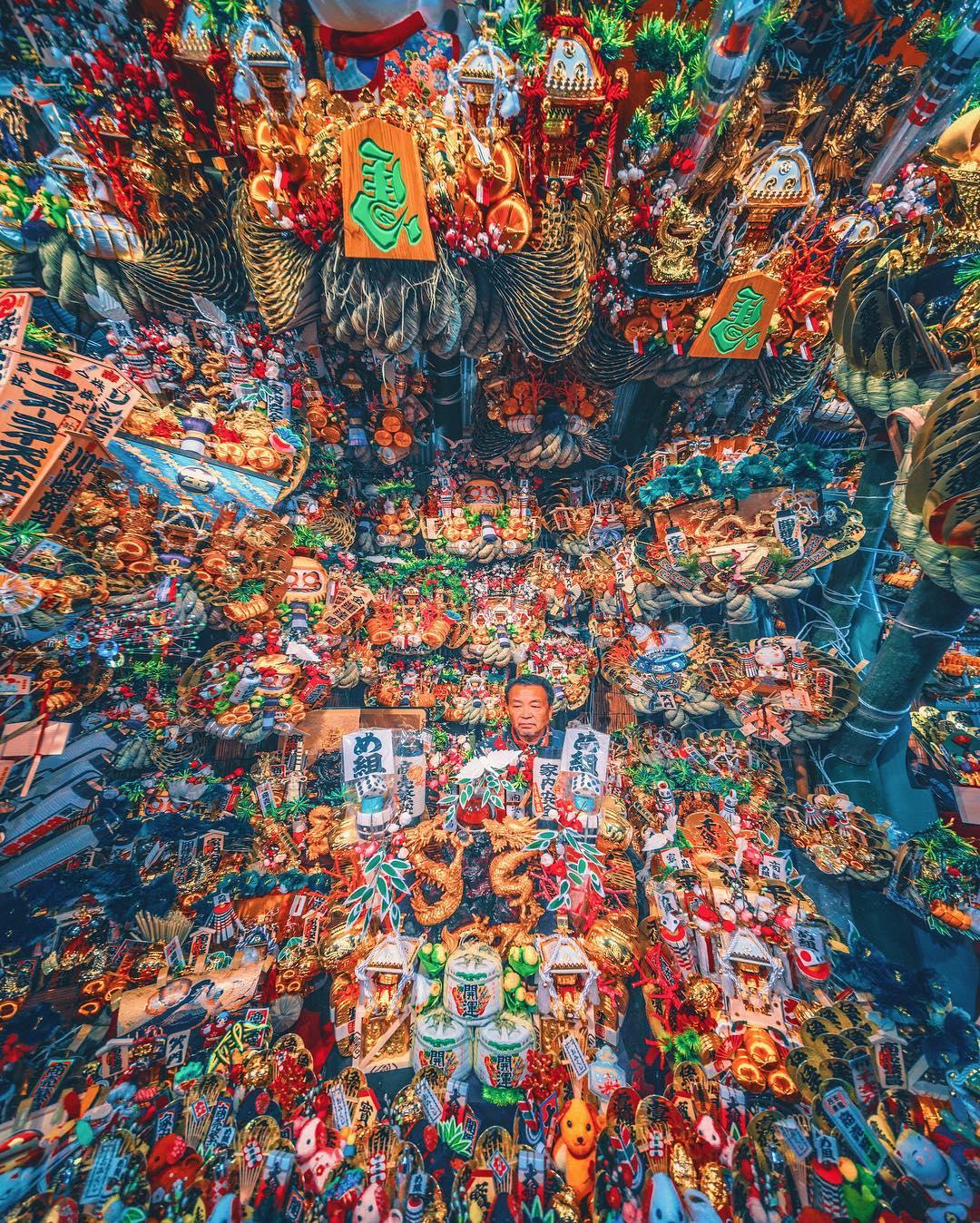 Цветовое буйство цвета в работах Наохиро Яко