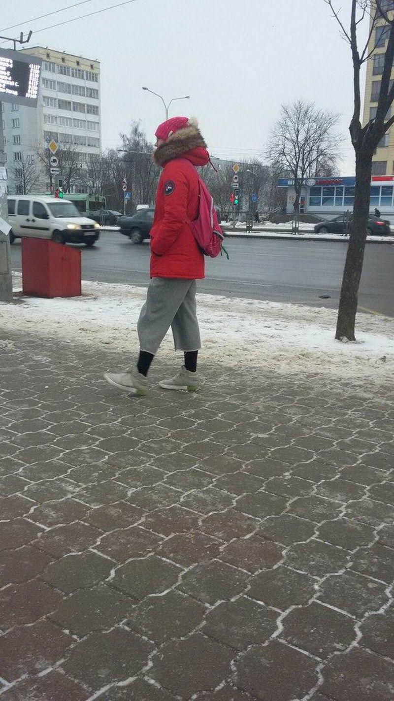Забавная белорусская уличная мода