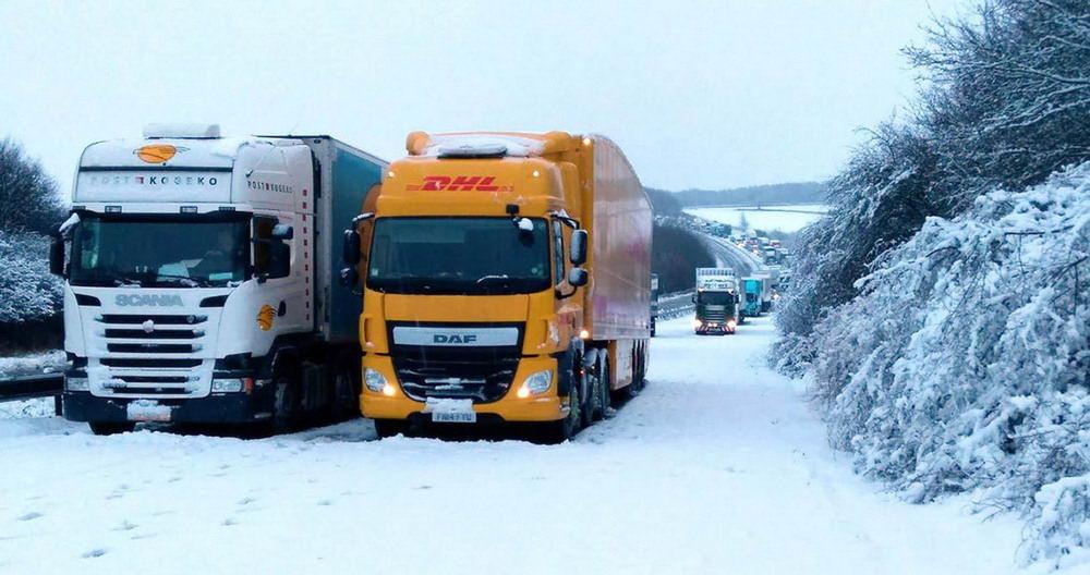 Снежный декабрь в Великобритании (30 фото)