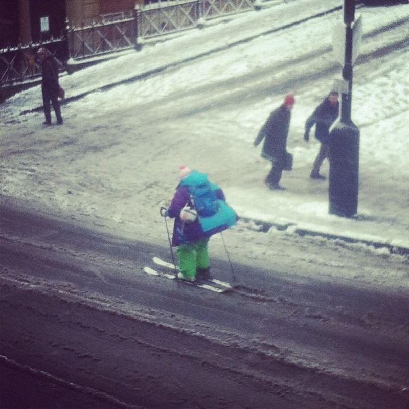 Забавные моменты которые могут случится только зимой