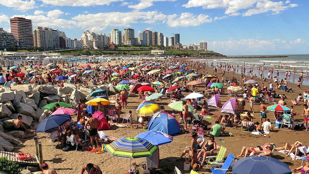 А в Аргентине сейчас лето