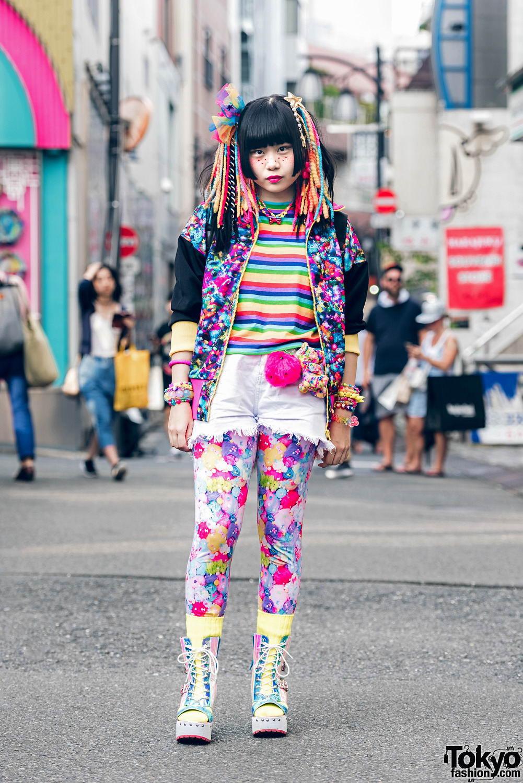 Интересные и модные персонажи с улиц Токио - 13 (55 фото)