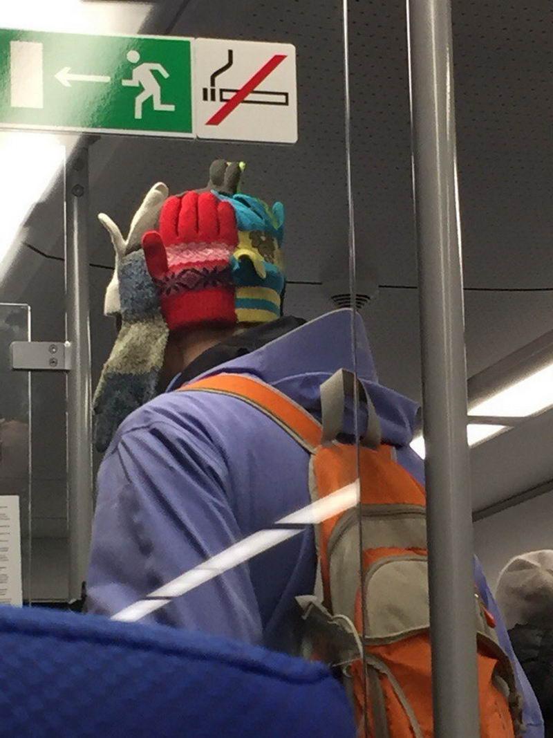 Мода из российского метро