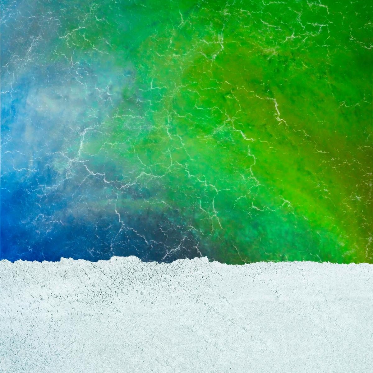 Потрясающие аэрофотографии потоков озера Эйр (20 фото)