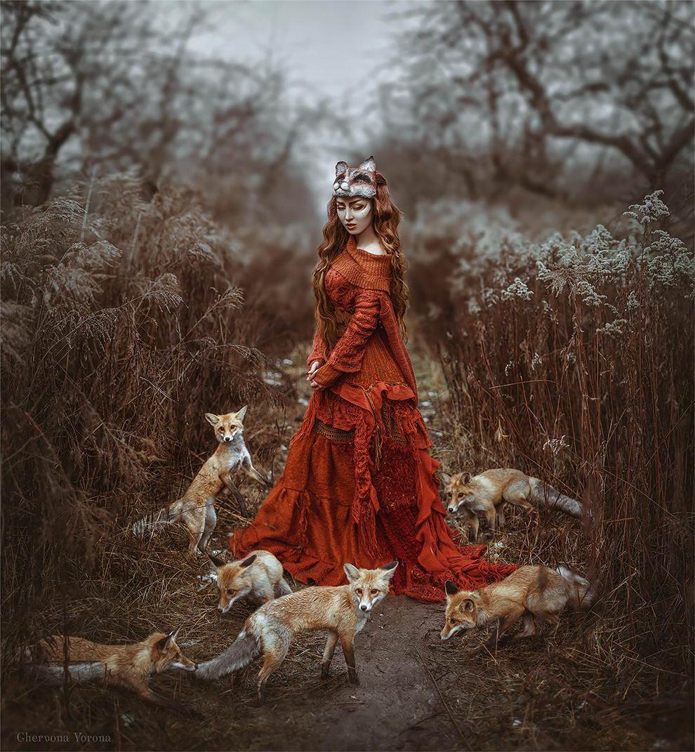 Сказочные работы украинскго фотографа