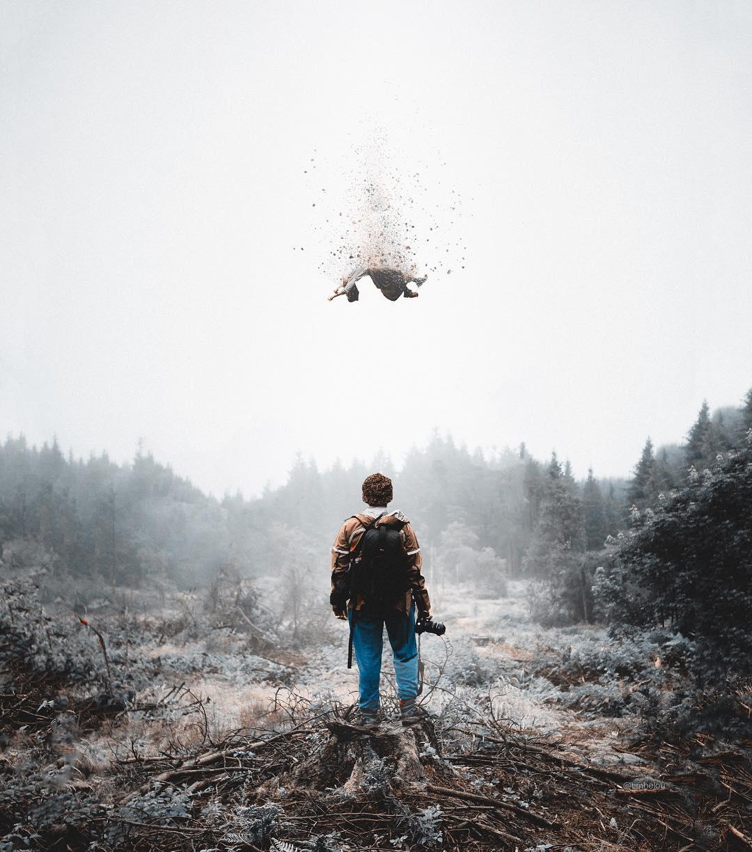сюрреалистические фотоманипуляции Tim El-Helou