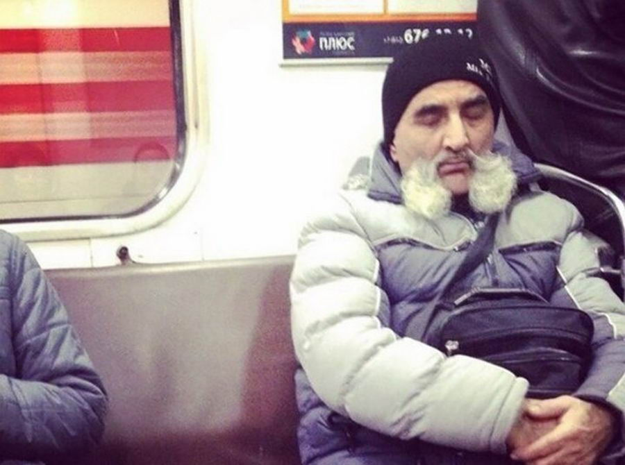Модные чудики из российского метрополитена