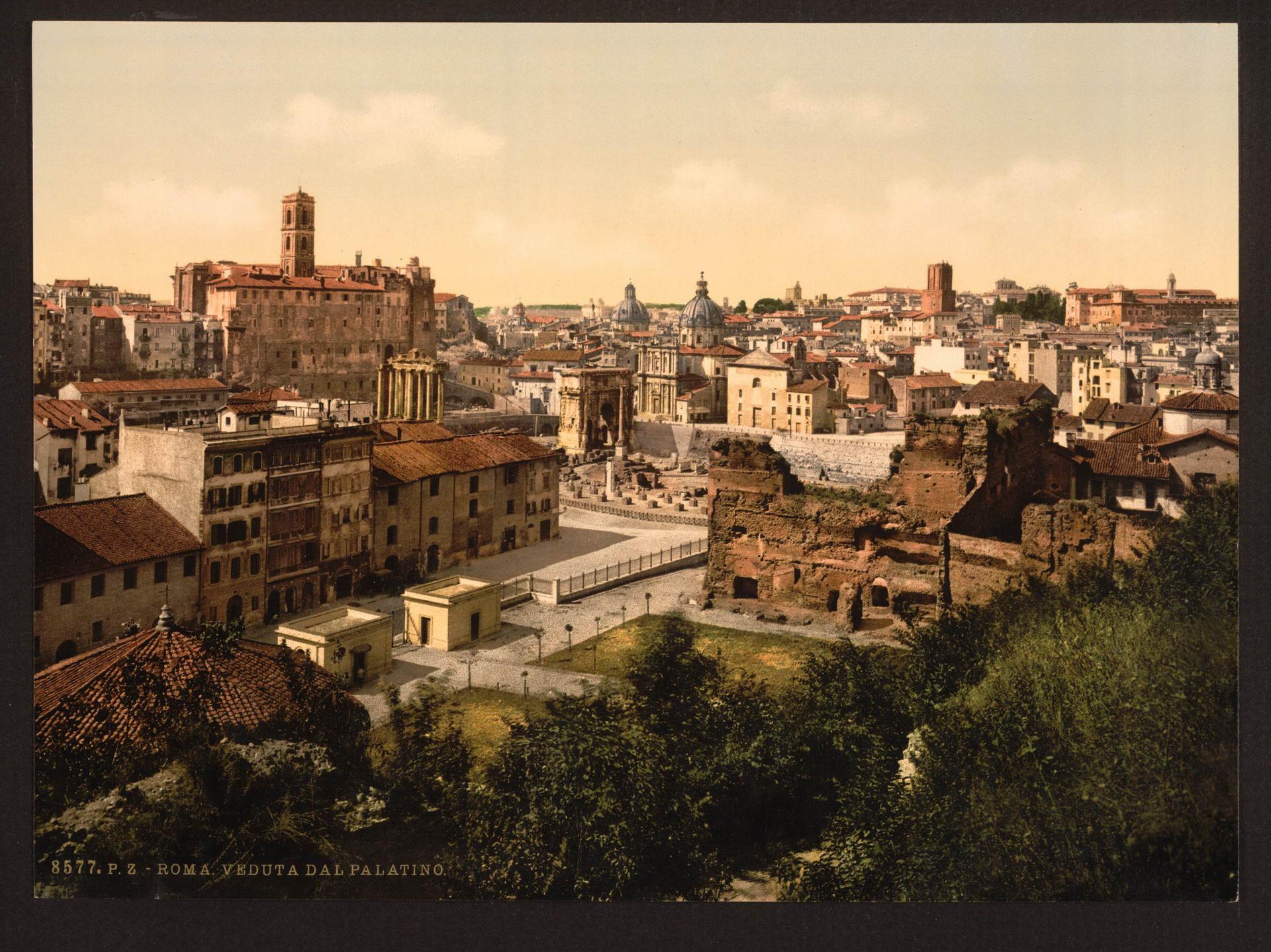 Цветные ретро фотографии Италии конца XIX века (60 фото)