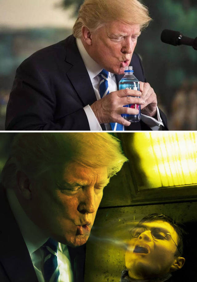 Самые смешные работы Photoshop Battles