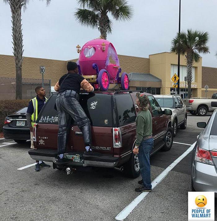 Странные и нелепые покупатели из Walmart - 10 (42 фото)
