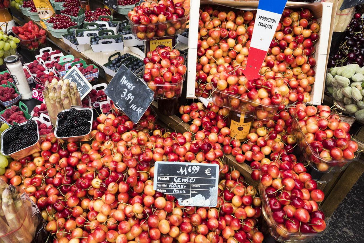 Гастрономическая прогулка: Французский базар (25 фото)