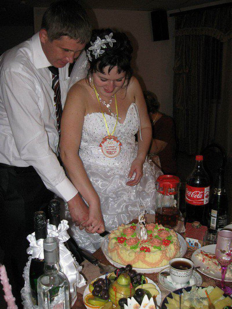 Нелепая русская свадьба