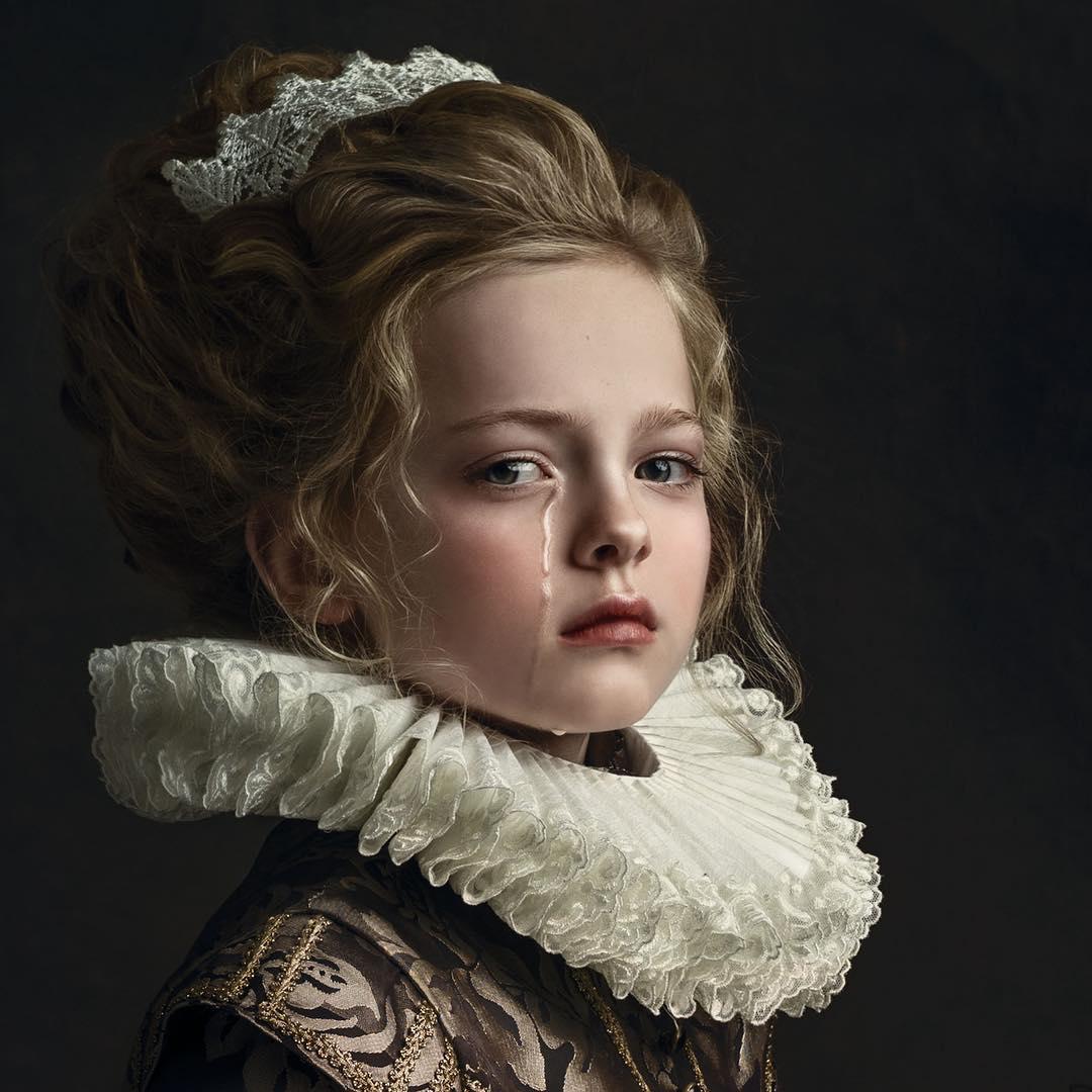 Фотопортреты в стиле старых мастеров (40 фото)