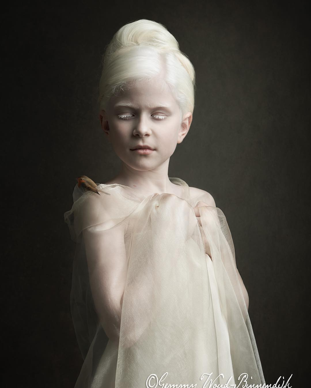 Фотопортреты в стиле старых мастеров