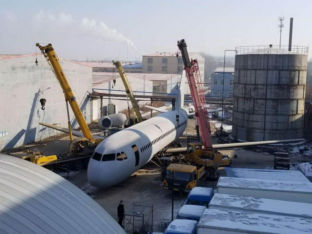 Китайски фермер строит свой Airbus A320