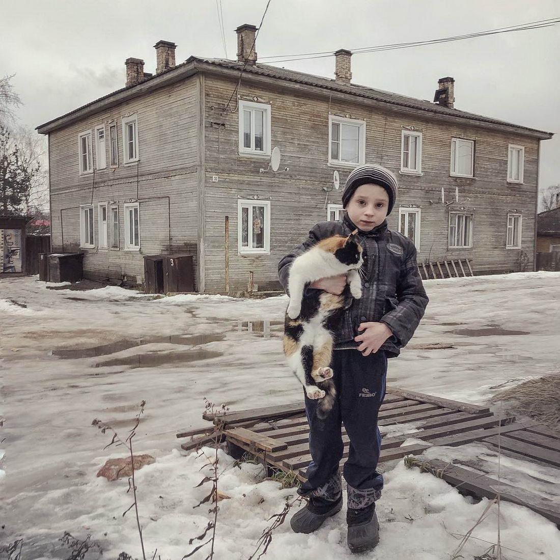 Российская глубинка на снимках Дмитрия Маркова (25 фото)