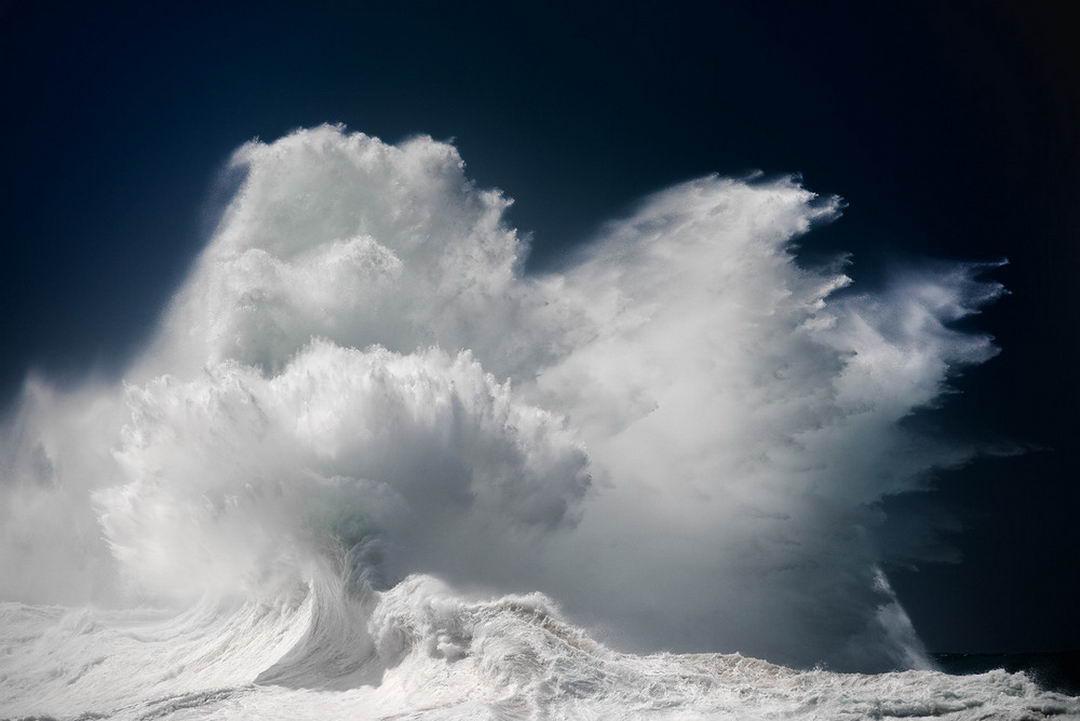 Волны на снимках Люка Шадболта