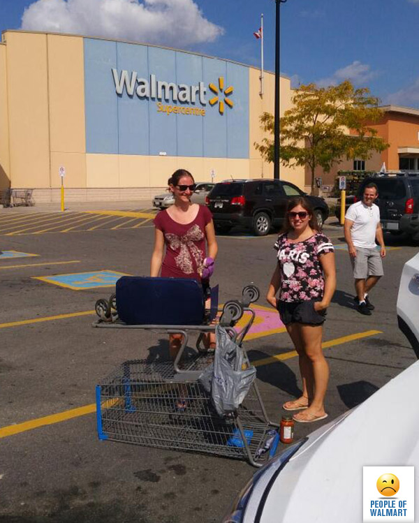Нелепые покупатели из Walmart