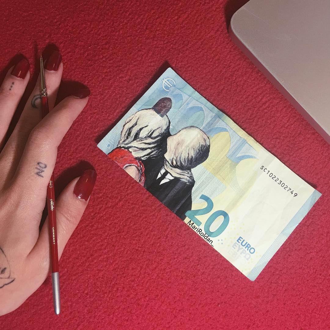 Знаменитые картины на европейских банкнотах