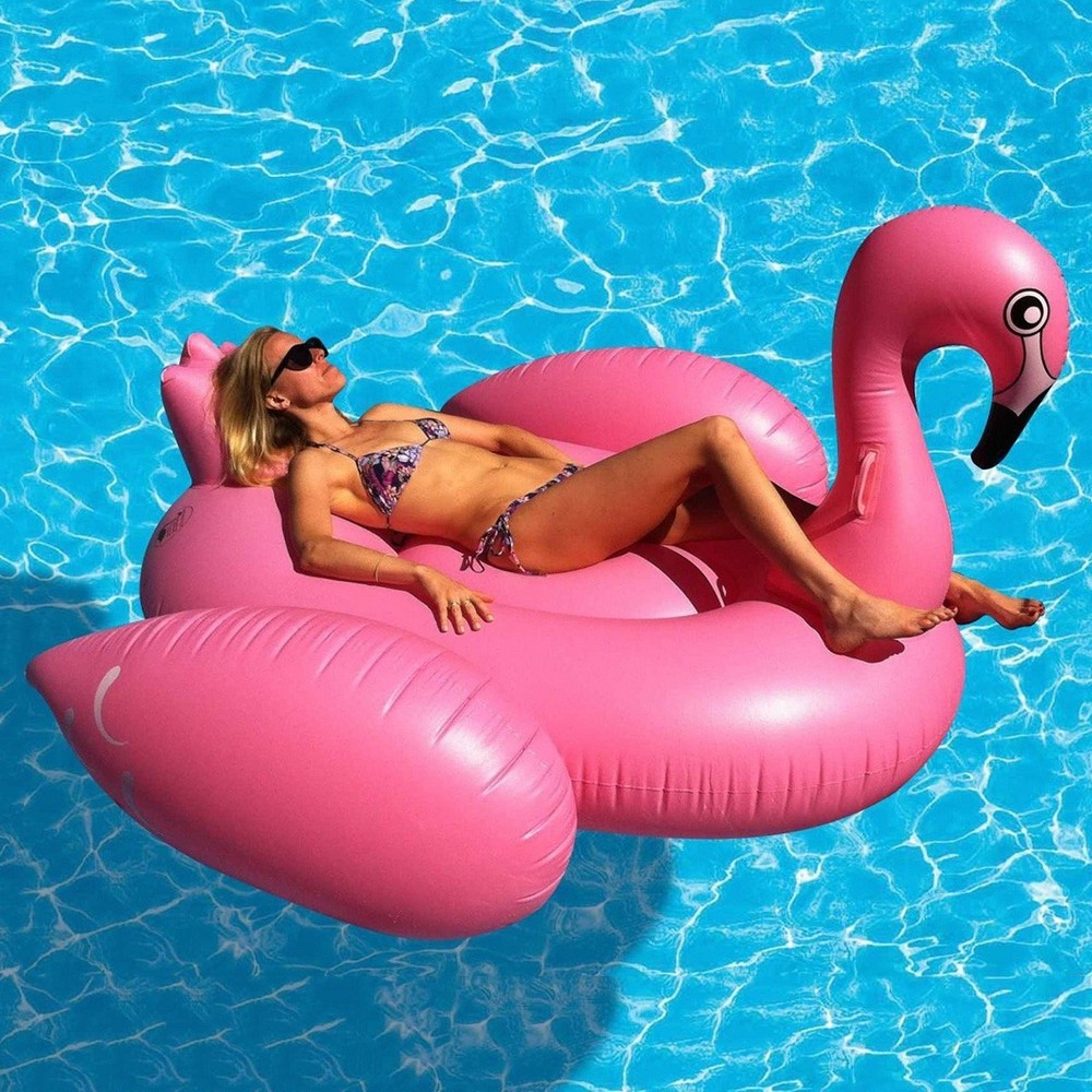 Новый модный аксессуар для отдыха - Огромная надувная птица