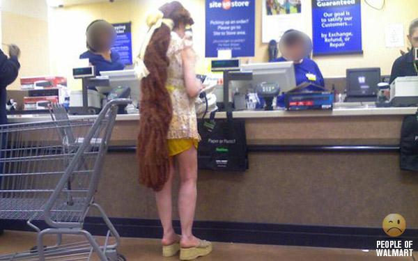 Чудики из Walmart - 12 (40 фото)