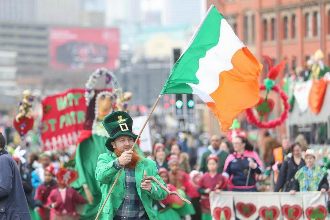 Как прошел День Святого Патрика в Ирландии (30 фото)