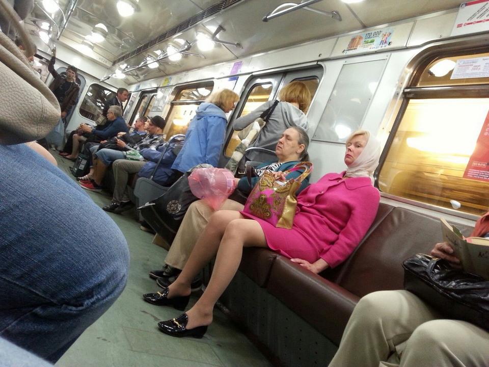 Модники российского метро - 39 (38 фото)