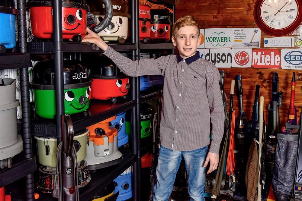 Школьник превратил свое странное увлечение пылесосами в успешный бизнес