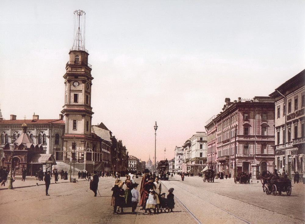 Старый Петербург в серии цветных фотографий (20 фото)