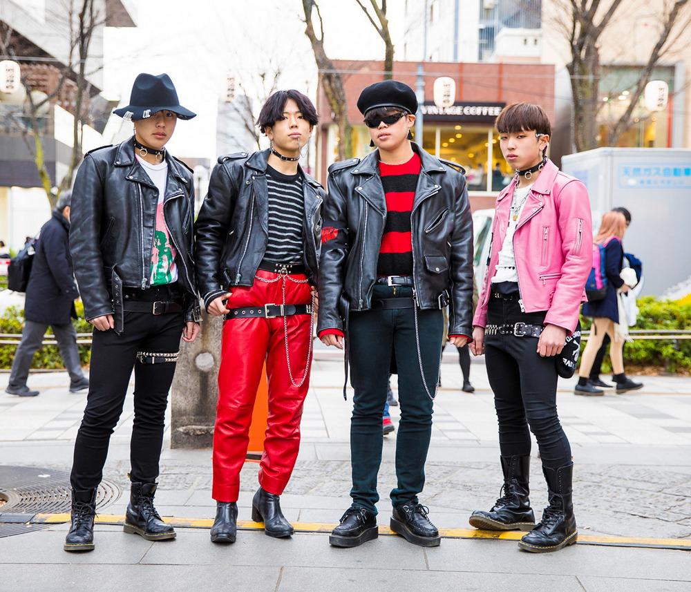 Интересные и модные персонажи с улиц Токио - 14 (40 фото)
